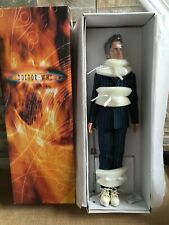 "TONNER DOCTOR WHO 17"" Vinyl Dressed Doll The 10th DOCTOR w/ Screwdriver + Stand"