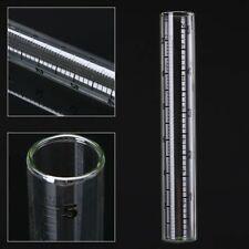 140mm Glass Rain Gauge Replacement Tubes Outdoor Garden Yard Clear Tool Part
