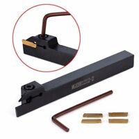 4pcs MGMN200 Carbide Inserts + MGEHR1212-2 Holder Boring Bar Turning Tool+Wrench