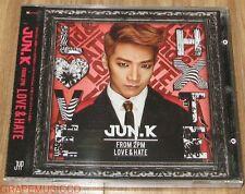 JUN. K JUN.K 2PM LOVE & HATE 1st Mini Album 6 PHOTO SET + CD SEALED