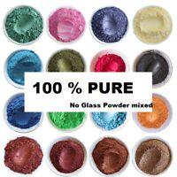 10g of Natural Mica Powder, DIY Wax Candle Melts Bath Bombs Cosmetic Soap Dye UK