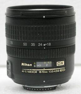 Nikon Nikkor AF-S 18-70mm f3.5-4.5 G ED DX Lens