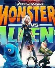 MONSTERS VS ALIENS - Mini Figures Set - Toy Quest