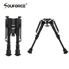 "6"" to 9"" Hunting Rifle Bipod Adjustable Spring Return Sniper Sling Swivel NEW"