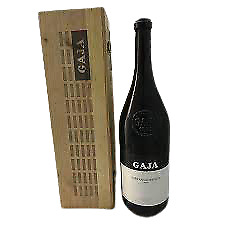MAGNUM vino rosso SORI' SAN LORENZO 2004 GAJA nebbiolo e barbera Piemonte