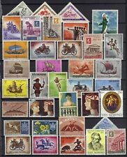 STAMPS LOT OF 35+ SAN MARINO MOSTLY MNH  OLYMPICS  AIR MAIL SHIPS  REF 1234  FS