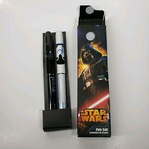 Star Wars - Disney Store 2 piece Pen Set Darth Vader & Stroomtrooer Ball pt. NEW