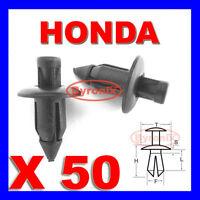 HONDA FAIRING PANEL TRIM CLIPS RIVETS FASTENERS 6mm X 50