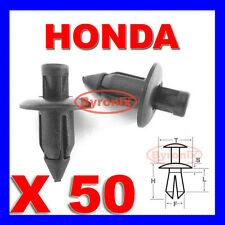 HONDA FAIRING PANEL TRIM CLIPS RIVETS FASTENERS 6mm X 50
