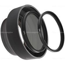 52mm filtro UV greenl & polarizador filtro CPL & parasol para Camara objetiva