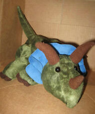 Triceratops Hand GLOVE PUPPET Dinosaur preowned ADORABLE Caltoy