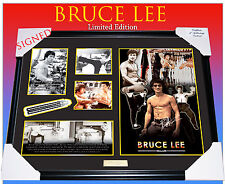 BRUCE LEE MEMORABILIA  SIGNED & FRAMED, LIMITED EDITION TO 499 w/ CERTIFICATE