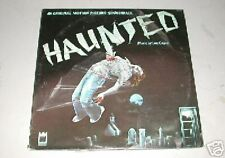 HAUNTED ORIGINAL FILM SOUNDTRACK LP 1977 Horror SLASHER flick Virginia MAYO