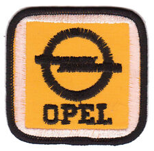 Opel Embroidered Patch