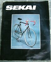 Vintage Early 80's Sekai Bicycle Catalog Road Bikes & BMX Frames