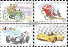 Bélgica 2703-2706 (compl.edición) nuevo con goma original 1996 Auto Racing