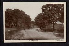 Holcombe Village, between Ramsbottom & Bury - real photographic postcard