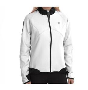 Pearl Izumi NWT Elite Softshell Womens Lg White 180 Cycling Jacket