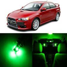 8 x Green LED Lights Package Kit For Mitsubishi Lancer Evo X 2008 - 2017 + TOOL