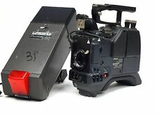 """Panasonic AW-F575 3CCD Color Video TV Camera w/ WV-VF65BP 5"""" Viewfinder & AD500A"""