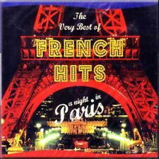 2 CD - THE VERY BEST OF FRENCH HITS - A NIGHT IN PARIS - brand new & sealed