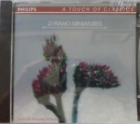 Lars Roos - 21 Piano Miniatures (CD, Philips) Brand NEW