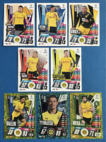 MATCH ATTAX EXTRA 2020/21 BORUSSIA DORTMUND SET OF ALL 8 CARDS PICTURED