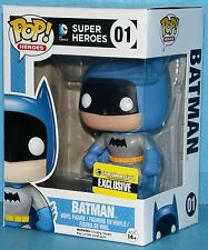 FUNKO MIB # 01 Batman EE Exclusive Pop! Vinyl Figure BLUE Rainbow 75 Anniversary