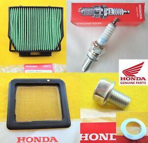HONDA CB125R NEO Service Kit Air Filter / Spark Plug / Sump Bolt 2018 - 2021
