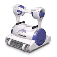 Robot per piscina Dolphin Thunder 20 pulitore pulisci fondo e pareti pulizia 12M