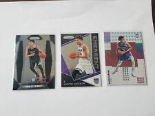 Justin Jackson (3) Basketball Card Lot Prizm Status