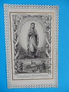 CANIVET DENTELLE SANTINO  LOURDES BERNADETTE  bonamy APPARITION 1879  THFR