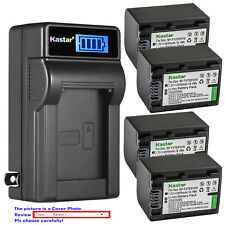 Kastar Battery LCD Wall Charger for Sony NP-FV70 & HDR-PJ230 HDR-PJ260 HDR-PJ26