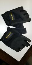 Gold's Gym Weight Lifting Velcro Gloves L/XL Lightly Used will combine s/h