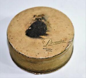 Old Rare Facial Powder brand Promesa Myrurgia made in SPANISH
