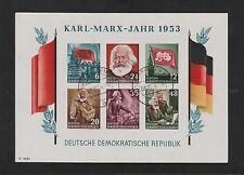 Gestempelte Briefmarken der DDR (1949-1990) mit Politiker-Motiv