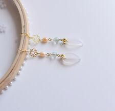 High-end Custom Girl Gift Earring Classical Agate Pearl Earrings Pendant Jewelry