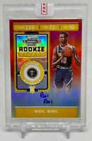 2019-20 Contenders Optic BOL BOL Rookie Ticket Auto Red Prizm /149 #118 Nuggets