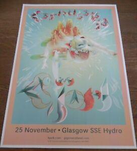 Björk - live music show Nov 2019 promotional tour concert gig poster