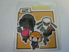 Sanrio Aggretsuko Sticker Die Cut With Friends