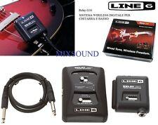 LINE6 Relay G30 SISTEMA WIRELESS DIGITALE RADIOMICROFONO JACK x CHITARRA e BASSO
