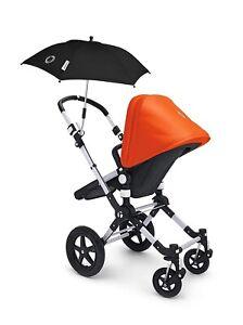 NEW BUGABOO Parasol Black Stroller Umbrella - Fits Chicco Bravo Strollers