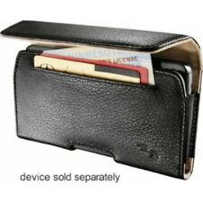 Leather Hip Case for Larger Sized PHONES iPhone 5, 5s & android Smartphones