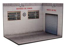Diorama présentoir Garage Atelier - 1/24ème - #24-3-G-H-I-001