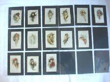 More details for b.d.v. silk's - beatiful modern painting's - cigarette silk cards - 14 silk's.