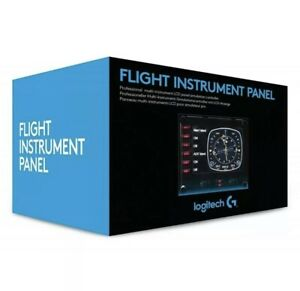 Logitech G Saitek Pro Flight Instrument Panel Colorful 3.5-inch LCD screen, New