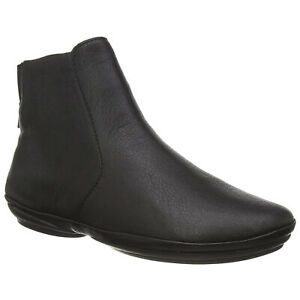Camper Womens Boots Right Nina K400313 Casual Zip-Up Ankle Leather