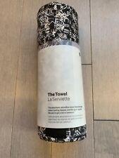 Lululemon The Towel Printed PDGB Black White