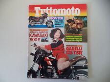 TUTTOMOTO 2/1984 YAMAHA XT 550/GARELLI TSR 125/CAGIVA ALA ROSSA 350/HONDA MTX 80