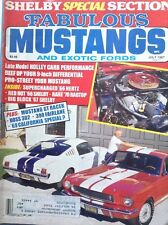 Fabulous Mustangs Magazine Holley Carb Performance July 1987 092617nonrh